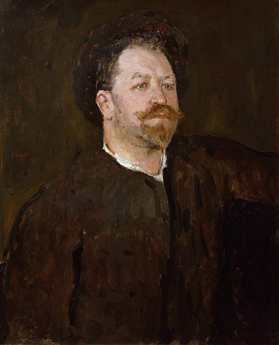 Портрет певца Франческо Таманьо (1851-1905). Валентин Александрович Серов