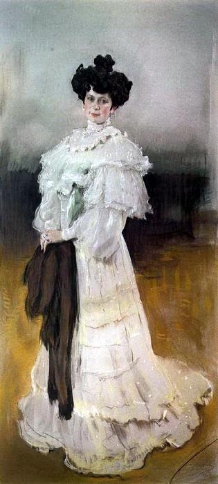 Портрет Е. А. Красильщиковой. 1906. Валентин Александрович Серов