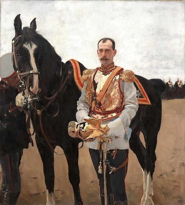 Портрет великого князя Павла Александровича. Валентин Александрович Серов