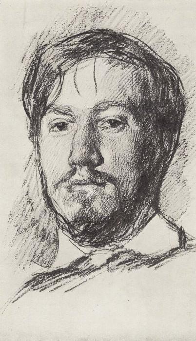 Self 2. 1887. Valentin Serov