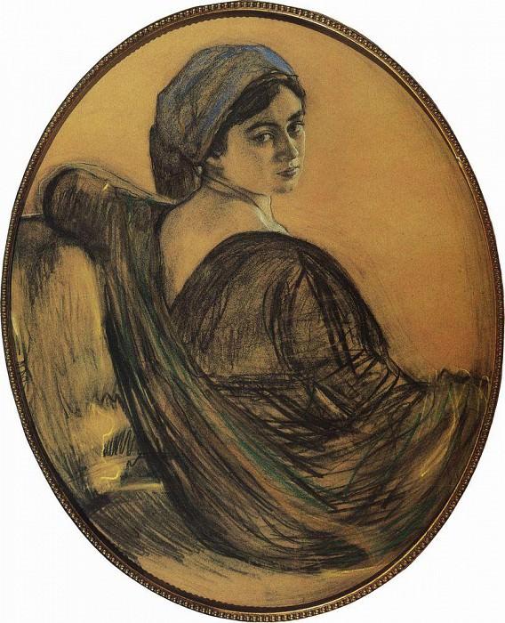 Portrait GL Ghirshman. 1911. Valentin Serov