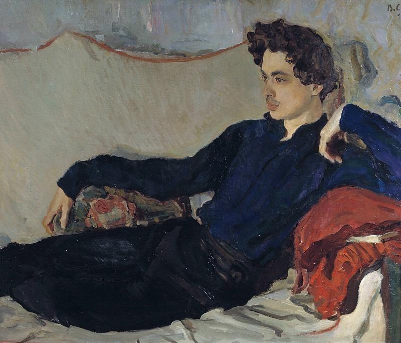 Portrait of Nikolai Poznyakov (1879-1943). Valentin Serov