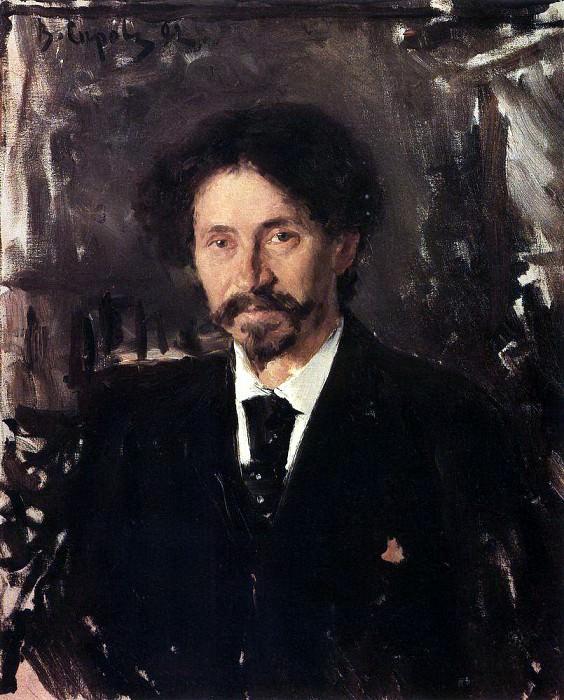 Портрет художника И. Е. Репина. 1892. Валентин Александрович Серов