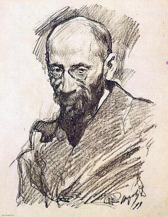 Portrait AP Nurock. 1899. Valentin Serov