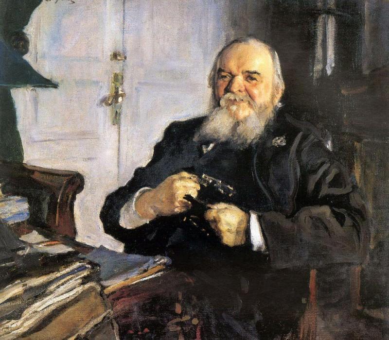 Portrait AN Turchaninova. 1906. Valentin Serov