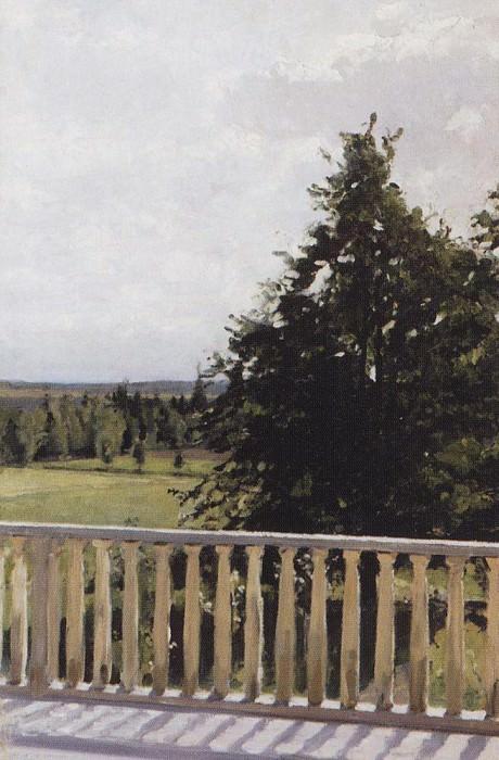 Balcony. 1911. Valentin Serov