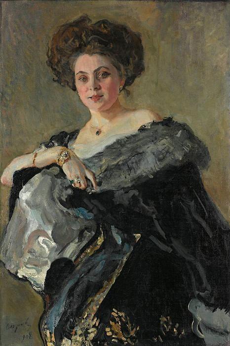 Portrait of Evdokia Sergeevna Morozova. Valentin Serov