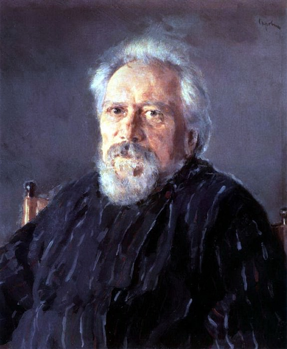 Portrait of the writer Nikolai Leskov. 1894. Valentin Serov