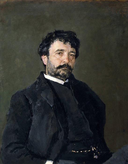 Portrait of Angelo Masini (1845-1926). Valentin Serov