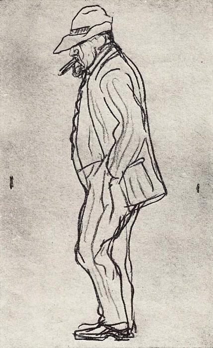 Dull Serov. 1910-1911. Valentin Serov