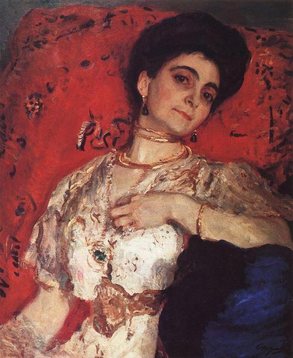 Портрет М. Н. Акимовой. 1908. Валентин Александрович Серов