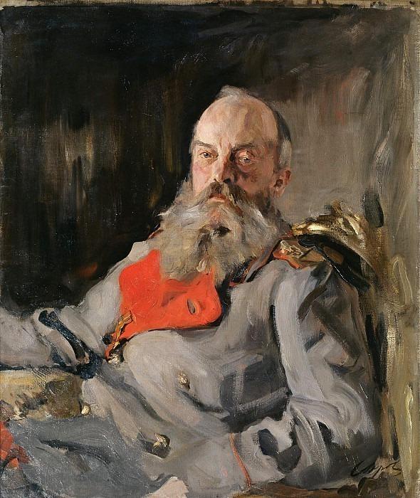 Portrait of the Grand Duke Mikhail Nikolaevich. Valentin Serov