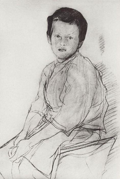 Миша Серов. Конец 1890-х. Валентин Александрович Серов