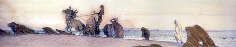 Одиссей и Навзикая 3. 1910. Валентин Александрович Серов