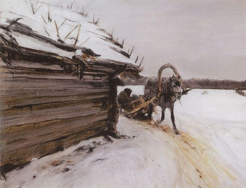 winter. 1898. Valentin Serov