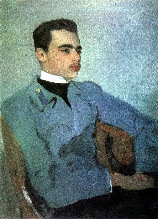 Portrait gr. NF Sumarokov - Elston. 1903. Valentin Serov