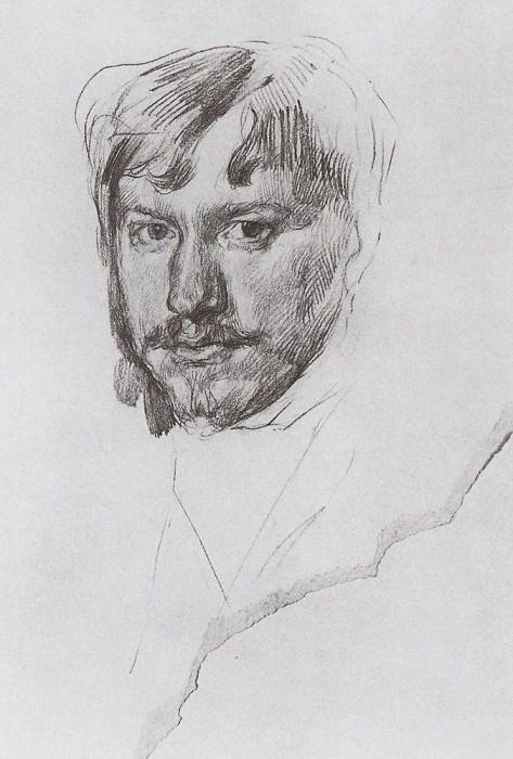 Self 1. 1887. Valentin Serov
