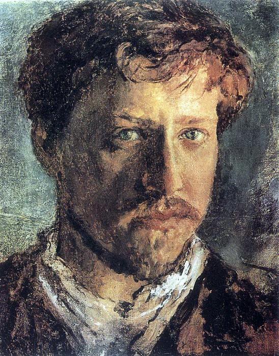 Self-portrait. 1880. Valentin Serov