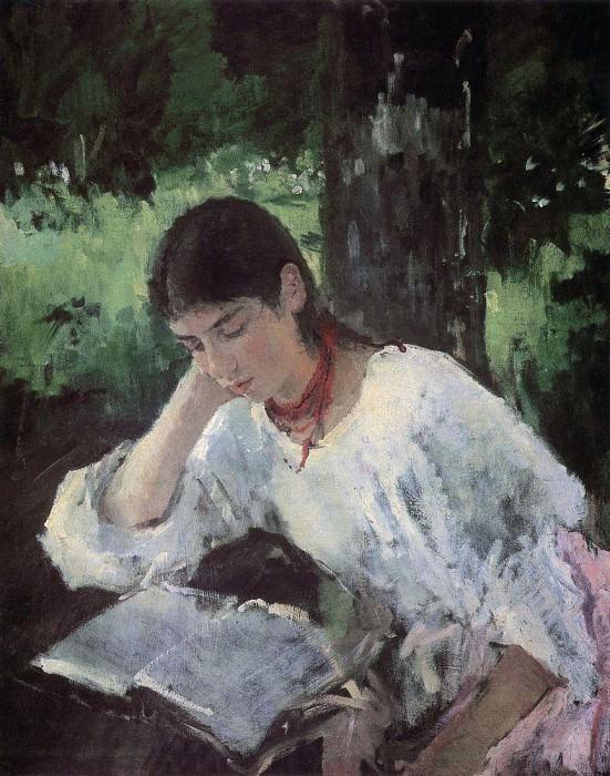 Portrait of Simonovich. 1889. Valentin Serov