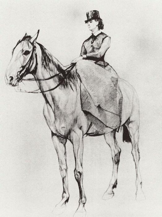 Amazon. MF Mamontov. 1884. Valentin Serov