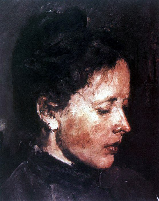 Portrait O. Serova. 1889-1890. Valentin Serov