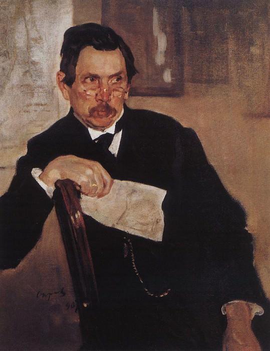 Portrait of A. Kasyanov. 1907. Valentin Serov