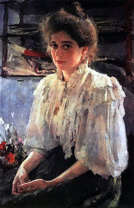 Portrait of J. Lvova. 1895. Valentin Serov