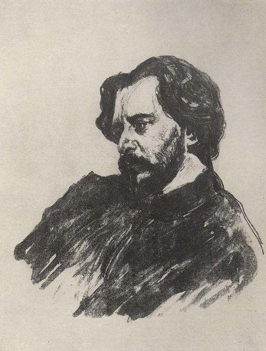 Portrait LN Andreeva 2. 1907. Valentin Serov