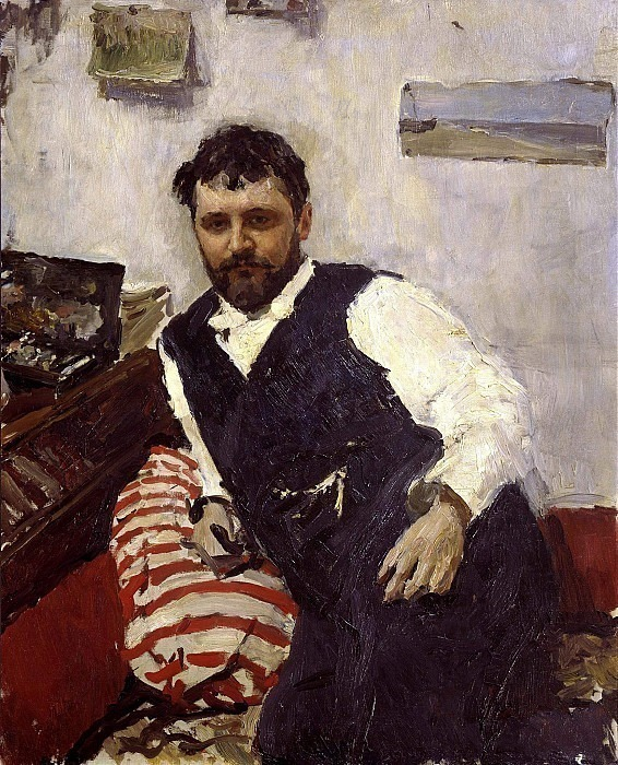Portrait of the artist K.A. Korovin. Valentin Serov