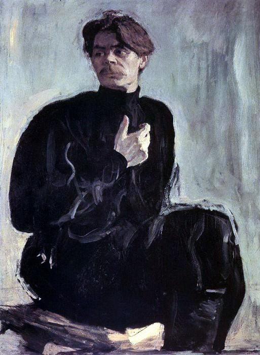 Portrait of the writer Maxim Gorky. 1905. Valentin Serov