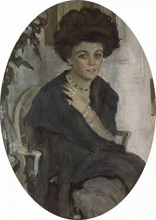 Portrait EP Olive. 1909. Valentin Serov