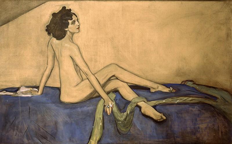 Portrait of Ida Rubinstein. Valentin Serov