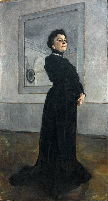 Portrait of the actress M.N. Ermolova. Valentin Serov