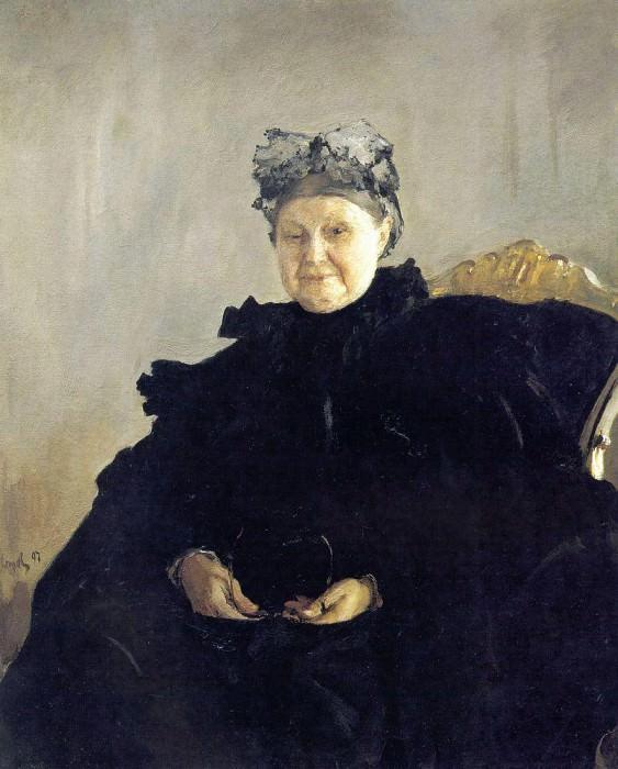 Портрет М. Ф. Морозовой. 1897. Валентин Александрович Серов
