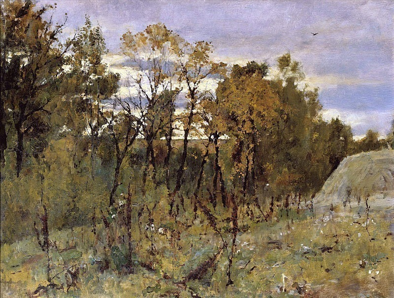 Autumn evening. Domotkanovo. Valentin Serov