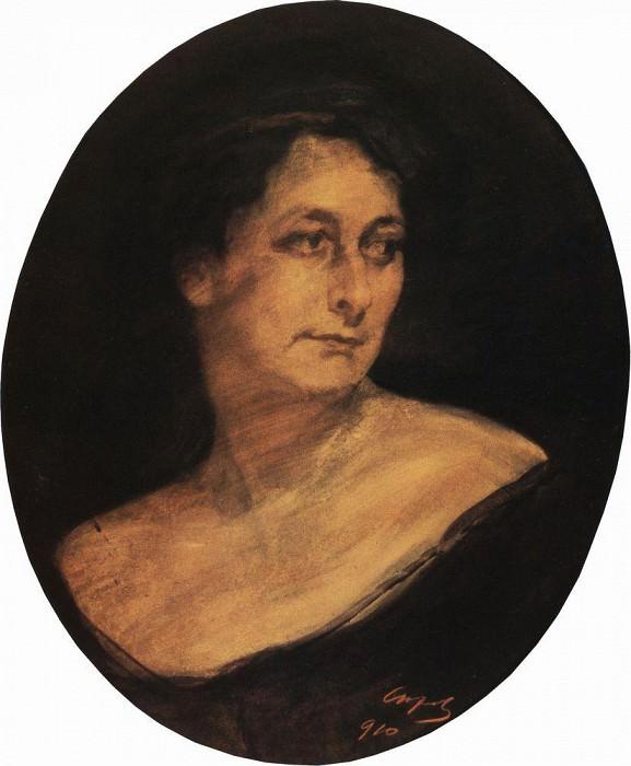 Portrait of M. Staal. 1910. Valentin Serov