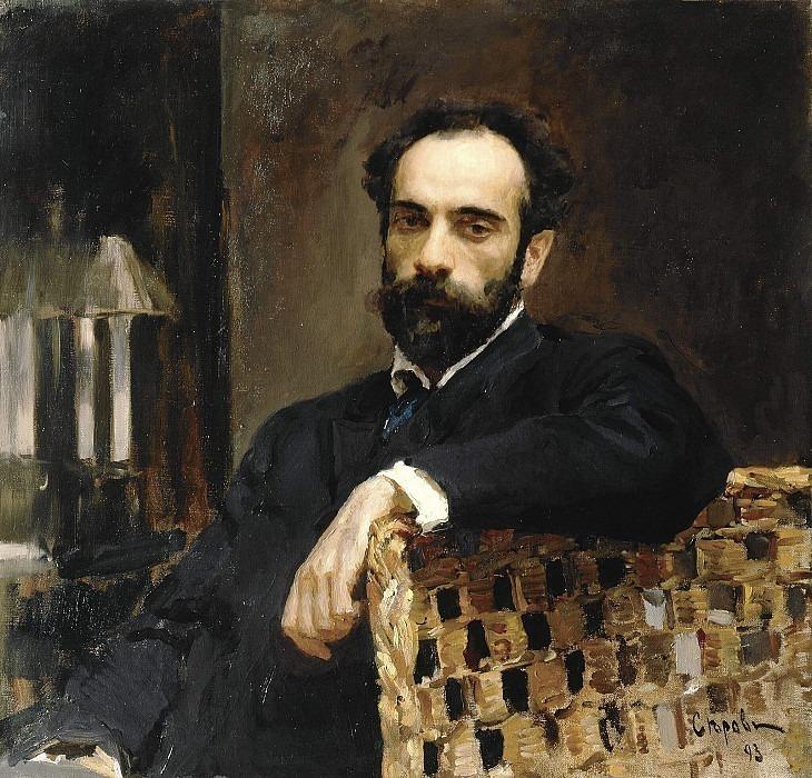 Portrait of the artist I.I. Levitan. Valentin Serov