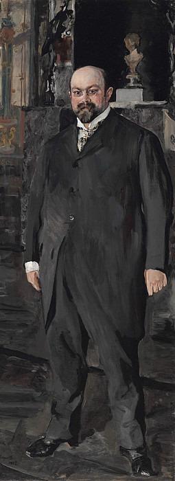 Portrait of Mikhail Abramovich Morozov. Valentin Serov