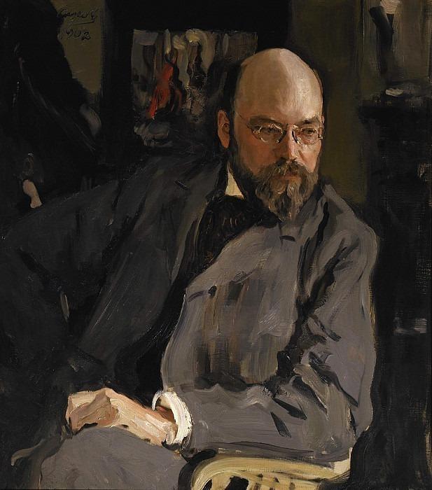 Portrait of the artist I.S.Ostroukhov. Valentin Serov