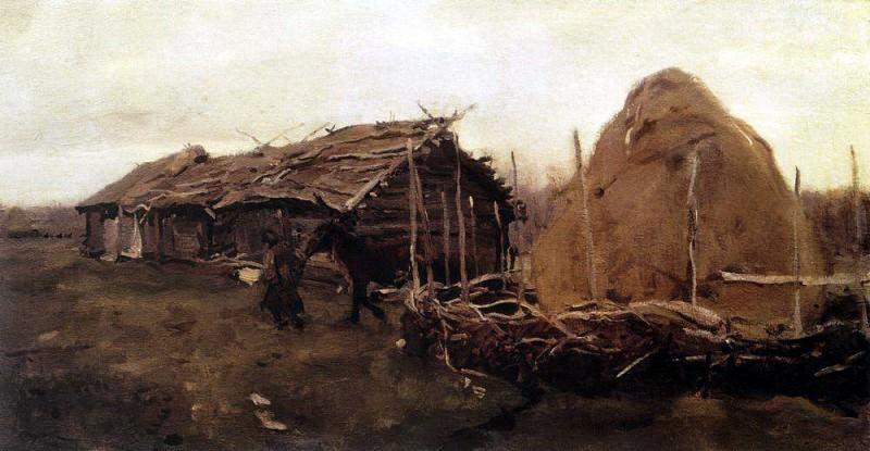 haystack. 1901. Valentin Serov