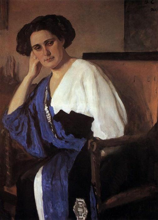 Portrait EA Balin. 1911. Valentin Serov