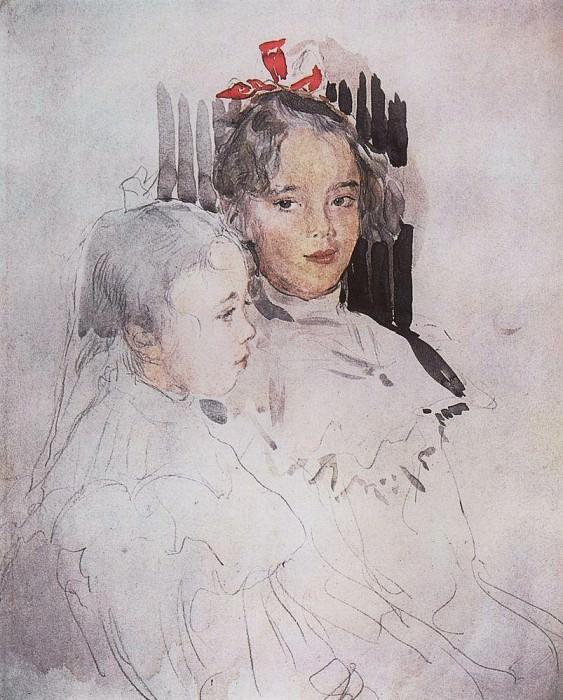 Portrait of S. Botkin. 1900. Valentin Serov