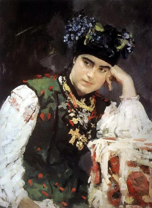 Portrait of Sophia. 1889. Valentin Serov