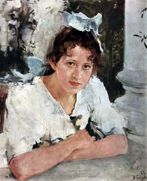 Portrait P. Mamontov. 1889. Valentin Serov