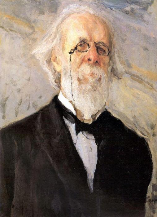 Portrait DV Stasova. 1908. Valentin Serov