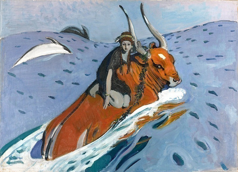 Abduction of Europa. Valentin Serov