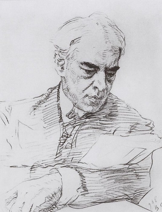 Portrait of Stanislavsky. 1908. Valentin Serov