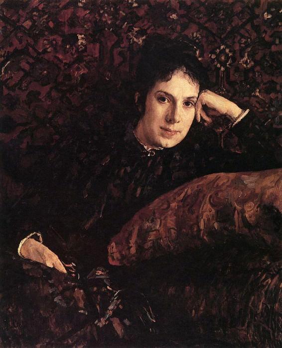 Portrait EN Chokolovoy. 1887. Valentin Serov