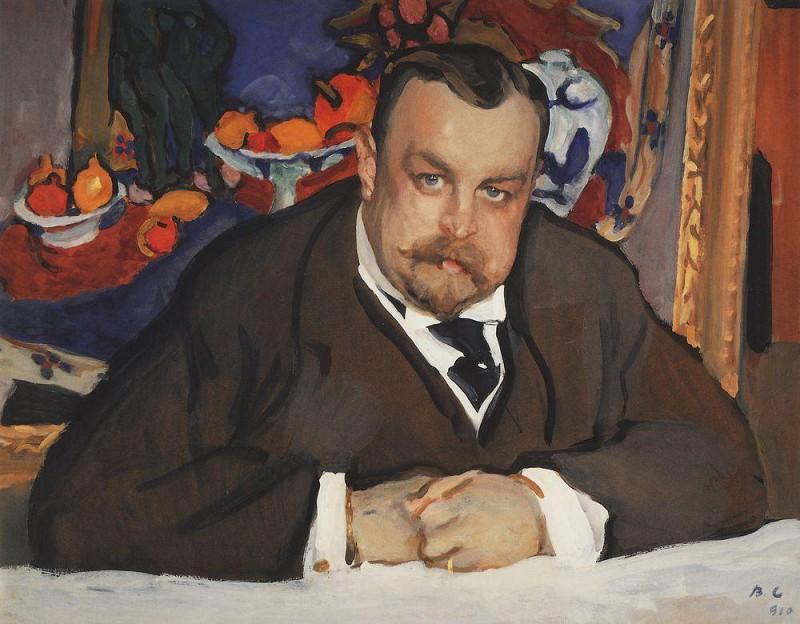 Портрет И. А. Морозова. 1910. Валентин Александрович Серов