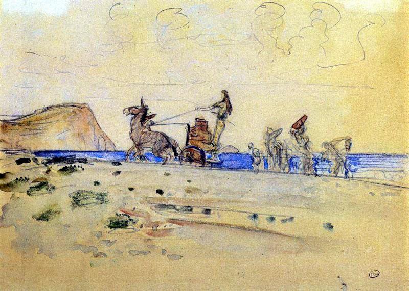 Одиссей и Навзикая 1. 1910. Валентин Александрович Серов